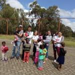 S návštevou dobrovoľníkov z Tanzánie (Poliak, Nemec a Češka)