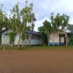 Kaplnka a farský dom