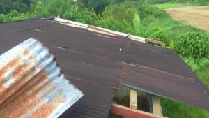 Poškodená strecha