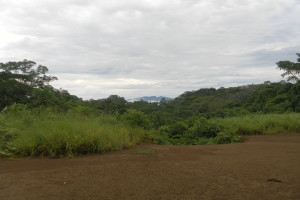 Výhľad na pohorie Kutuku